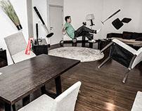 Levitation in living-room