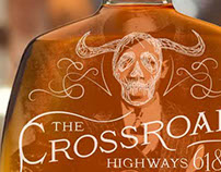 The Crossroads Whiskey Packaging