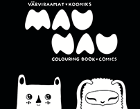 Colouring Book & Comics MAU NAU