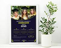 University Admission flyer