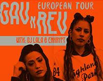 Gav & Rev European Tour