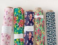 Floral Wallpaper Mock ups