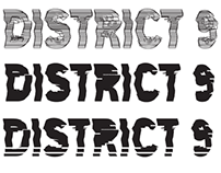 FilmDoo Poster Competition - District 9