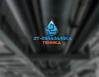 ZT- ZGRADARSKA TEHNIKA- Logo Design