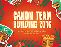 Canon Team Building