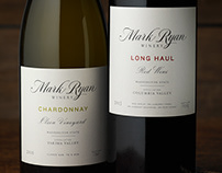 Mark Ryan Winery Packaging & Logo Design