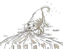 Surfboard Illustration