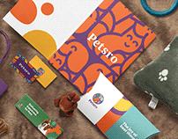 Petsro brand design.
