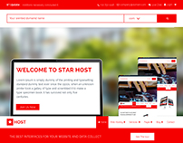 Star Host - HTML5 Responsive Website Template