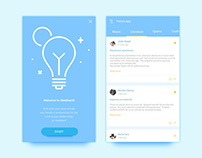 Free Forum App UI Design