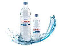 Erwina water branding