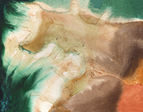 Watercolor land