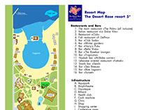 Map for The Desert Rose Resort 5*