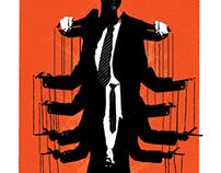Illustrated Internet Trolls Series - Power Abuser