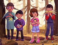 CHILDHOOD MEMORIES (Children book)