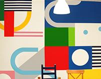SREDA wall graphics