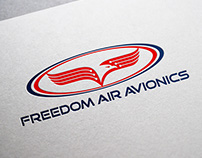 Branding for Freedom Air Avionics