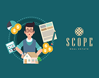 Scope Real Estate Agency - Motion Graphics video