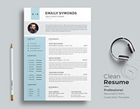 Resume / CV Template -Free Download