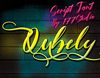 Free Font - Qubely Script