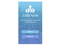 JOBS NOW - UI/UX Design Project