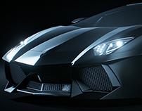 Lamborghini Aventador CG