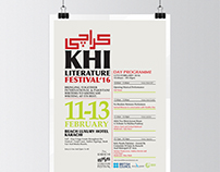 Karachi Literature Festival - Poster Design