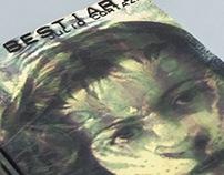 """Portada de libro: """"Bestiario"""" de Julio Cortázar"""