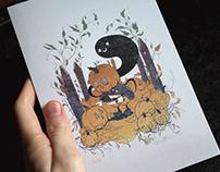 Clyde Halloween Card