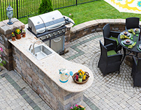 Enhance Outdoor Kitchen Design with Cabinets
