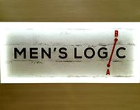 MEN'S LOGIC Menswear boutique Logo design