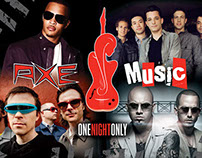 Axe Music's One Night Only Concert Series