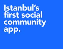 One Istanbul Social Community Platform / Concept Design