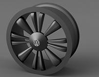Releitura Roda Volkswagen