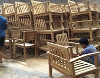 jepara teak garden furniture