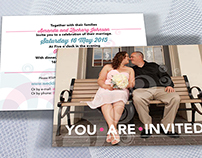 Wedding Stationery: Invitation and Save the Date