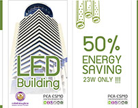 PEA LED Building Exhibition Design