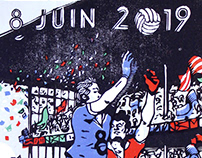 Affiches sportives (2013-2019)