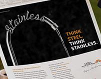 Jindal Steel  - newspaper ads