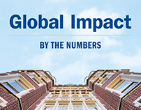 Global Impact: By the Numbers