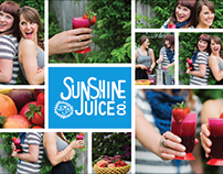 Sunshine Juice Co. Branding