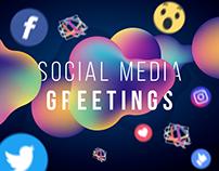 GREETINGS-Social Media