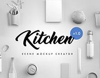 Kitchen Scene Creator Mockups