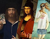 Renaissance art through 2017 fashion