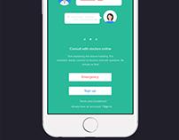 DoctorMe App design