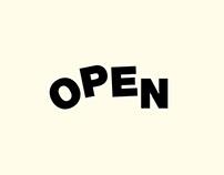 Open Exhibition - Brand Identity