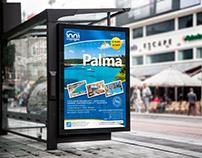 Conception Affiche Poster, Offre voyage Palma
