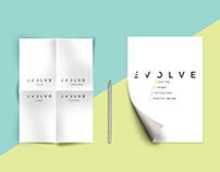 Full Visual Identity and Brand Voice for EVOLVE