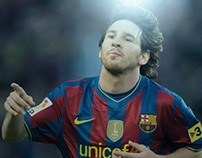 New Edit For Messi