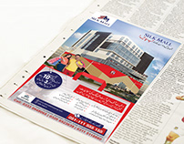 PRINT ADS DESIGN FOR NEWSPAPER